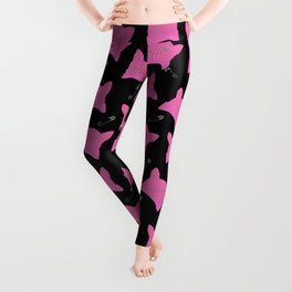 Pink Pussy Hats Print Leggings