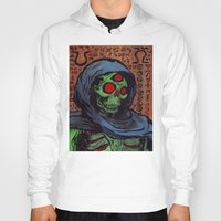 occult Hoodies featuring Occult Macabre by Chris Moet