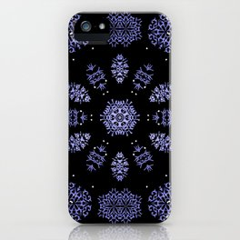 Snowflake Lights In The Park iPhone Case
