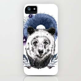 The Bear (Spirit Animal) iPhone Case
