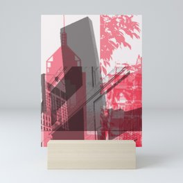 city life New york Mini Art Print