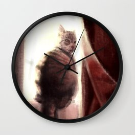 Watchful Wall Clock