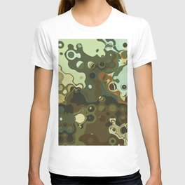 RETRO Mid Century Modern Abstract Pattern Geometric Art by Michel Keck T-shirt