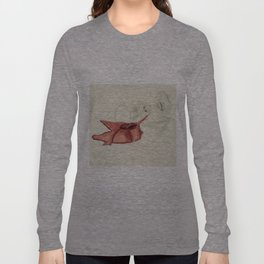 Spilling Wine 2- Color Long Sleeve T-shirt