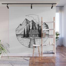 Little Island Wall Mural