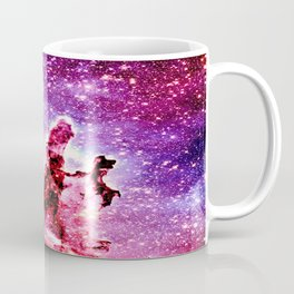 Galaxy Nebula : Pillars of Creation Coffee Mug