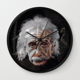 Albert Einstein - E=mc² Wall Clock