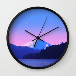 Mount Fuji Sunrise Wall Clock