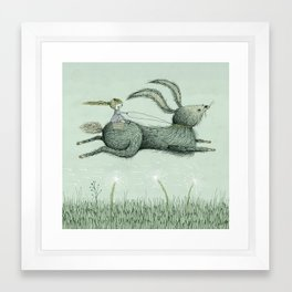 'Runaway' Framed Art Print