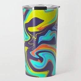 POP ART SWIRLS Travel Mug
