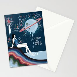 A million tiny miracles Stationery Cards