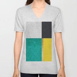 Geometric art VI Unisex V-Neck