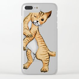 Sassy cat Clear iPhone Case