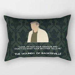 The Hounds of Baskerville - Greg Lestrade Rectangular Pillow