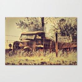 Vintage Truck - Mononoke Canvas Print