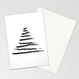 Modern Christmas Tree Stationery Cards