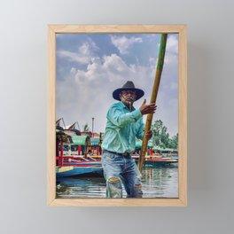 Master Trajinero Framed Mini Art Print