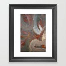 Earth's Aura Framed Art Print