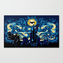 Starry Knight iPhone 4 4s 5 5c 6, pillow case, mugs and tshirt Canvas Print