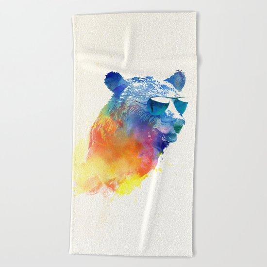 Sunny Bear Beach Towel