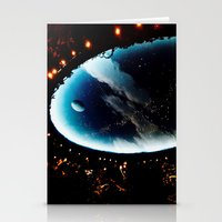 astronomy Stationery Cards featuring Astronomy Ceiling by VitaniVerci