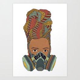 BLK PWR Art Print