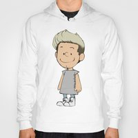 niall Hoodies featuring Schulz Niall by Ashley R. Guillory