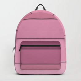 Colorful geometric pattern in shades of pink . Backpack