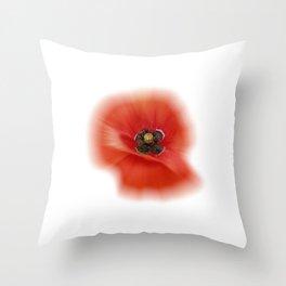poppy zoom IX Throw Pillow