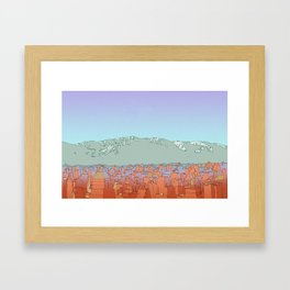 Muteland Framed Art Print