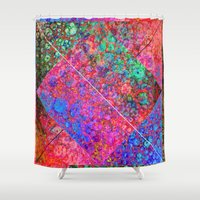 depeche mode Shower Curtains featuring Mode by JKyleKelly