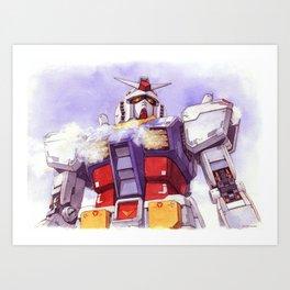 Gundam RX-78-2 Kunstdrucke