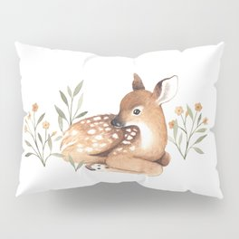 Meadow and Fawn Pillow Sham