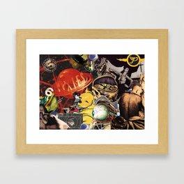 Then The Devil Is 6 Framed Art Print