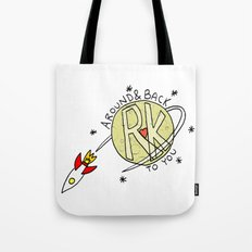 Around & Back to You Tote Bag