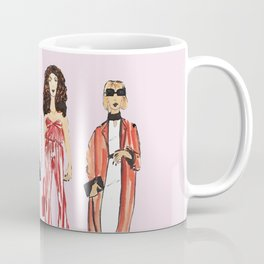 Fashion Drawing Series Pouch, Pinales Illustrated Coffee Mug
