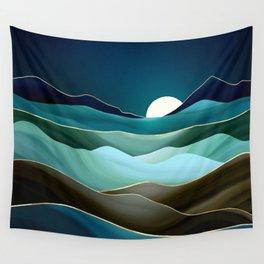 Moonlit Vista Wall Tapestry
