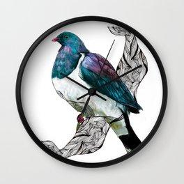 kereru Wall Clock