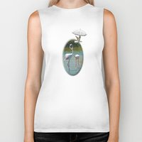 lovers Biker Tanks featuring Lovers by CrismanArt