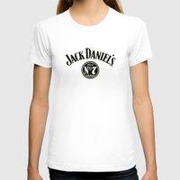 jack daniels T-shirts featuring JACK DANIELS by Bilqis