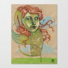 DANCING DRAGON Canvas Print