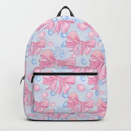 Pink Bow Backpack