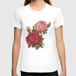 Roses Are Red And Pink... T-shirt