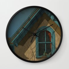 Looking In Wall Clock