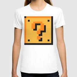 ?Question Mark block- Super Mario Bros. T-shirt
