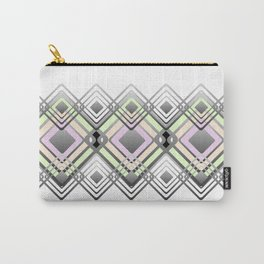 Geometric pattern. Carry-All Pouch