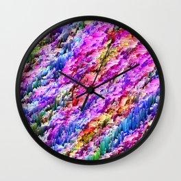 N U J  T E A D Wall Clock