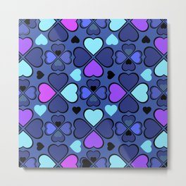 Hearts Flower Creation 11 Metal Print