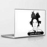 cassandra jean Laptop & iPad Skins featuring jean michel by b & c