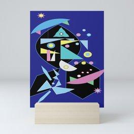 Square Root Abstract design Mini Art Print